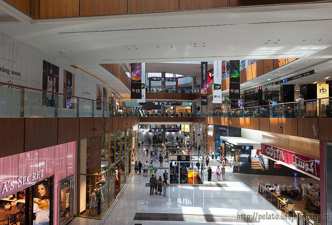 Dubai Mall молл Dubai Дубаи ОАЭ UAE