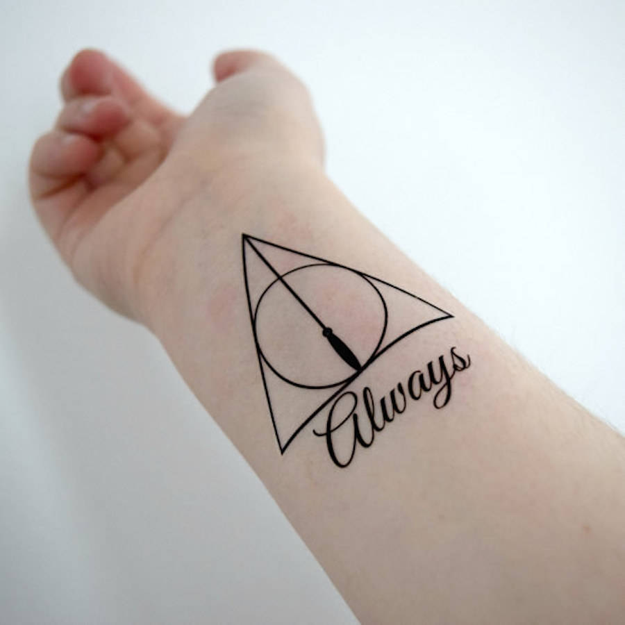 Temporary Tattoos for Harry Potter Fans (8 pics)