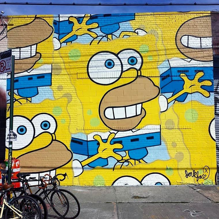 Jerkface – Between street art and pop culture (20 pics)