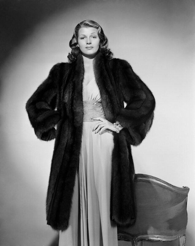 Rita Hayworth 1940 - By A.L. Whitey Schafer, for Columbia. Pub shot for Angels Over Broadway. Costume by Kalloch.