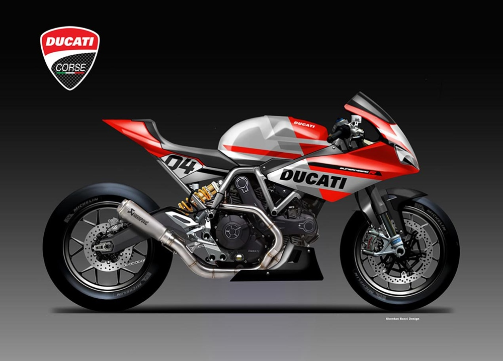 Обердэн Бецци: концепт  Ducati SuperSport R