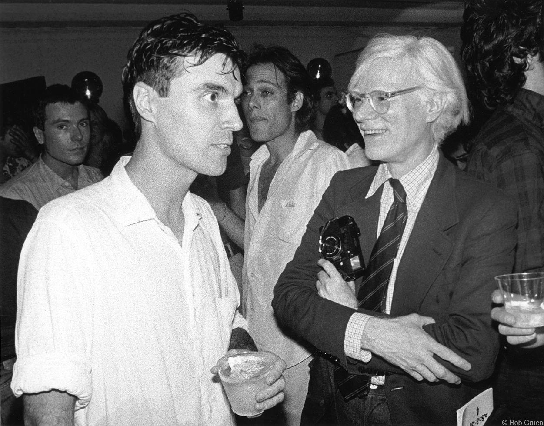 1978. Дэвид Бирн & Энди Уорхол