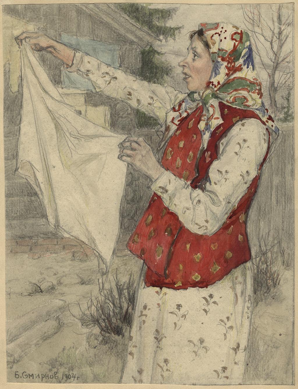 Переселенка из Архангельской губернии