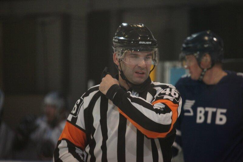 Хоккей в Марьино: ВТБ-Пантеры