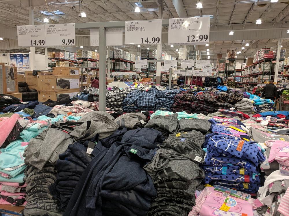 Покупка продуктов в США