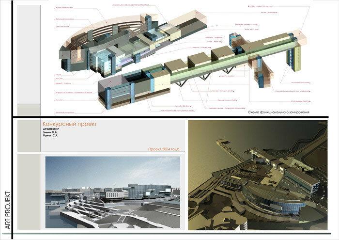 Проект реконструкции 5-й очереди набережной 2004 год