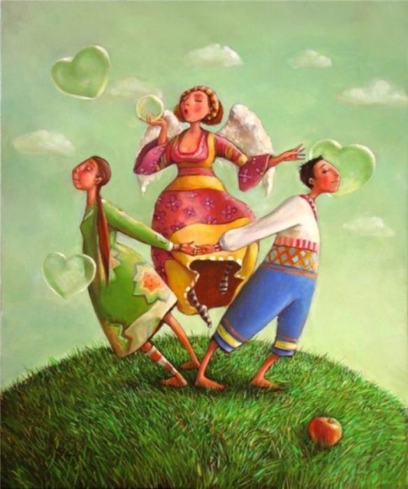 Картины Марианы Колачёвой
