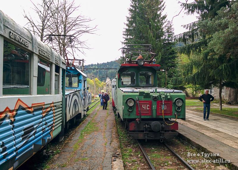 Локомотив поезда узкоколейки