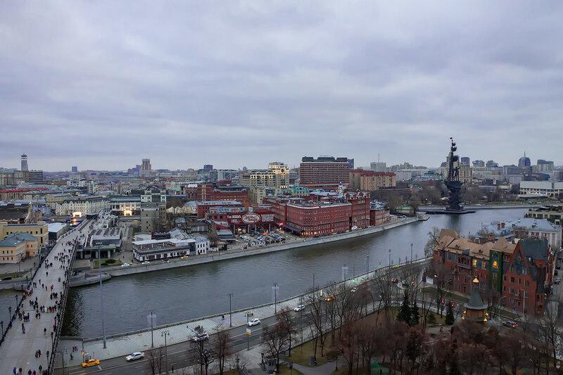 Москва в январе
