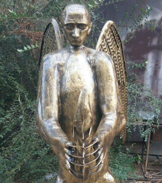 0 179c44 ab0ee8f0 XL - Скульптура медведя с головой Путина