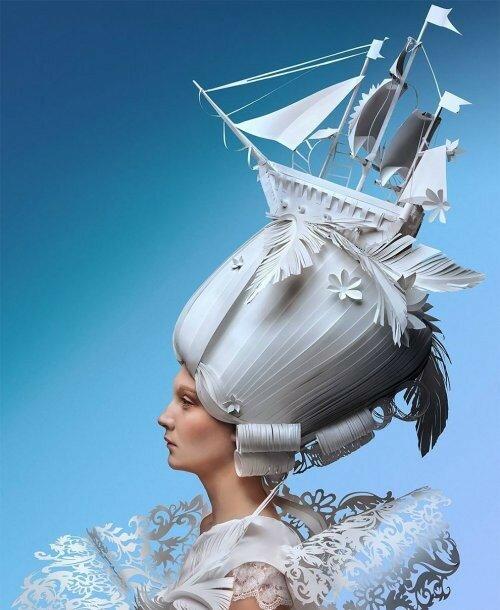 0 17adcf 903e8757 XL - Бумажные парики Аси Козиной в стиле барокко