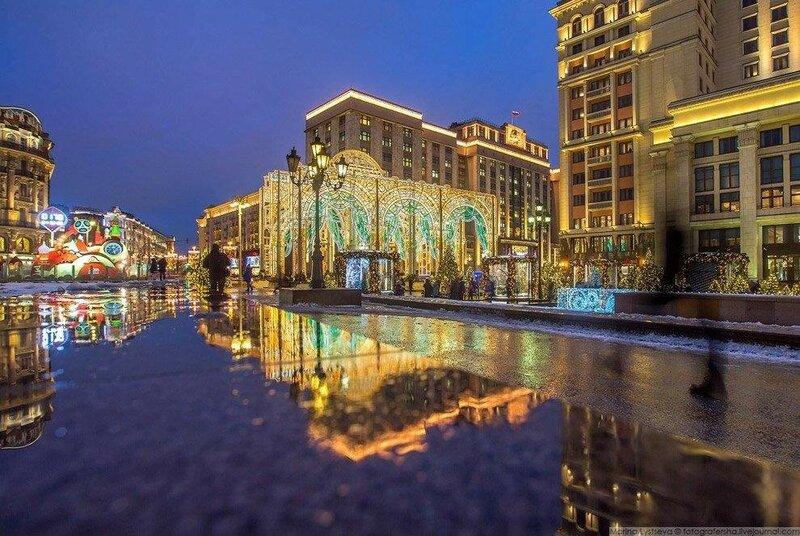 0 17db0a 974ce8 XL - Новогодняя Москва: 46 фото