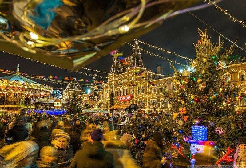 0 17db23 76b5f954 XL - Новогодняя Москва: 46 фото