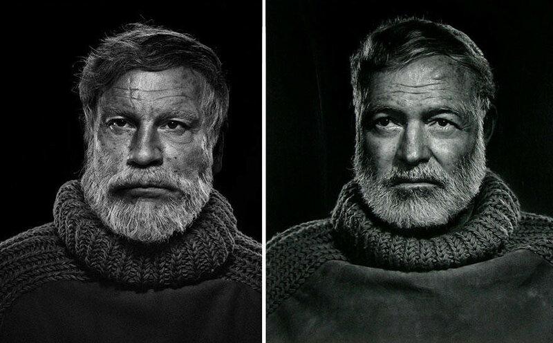0 177e10 f25a1d XL - Ремейки легендарных фотографий в исполнении Сандро Миллера и Джона Малковича