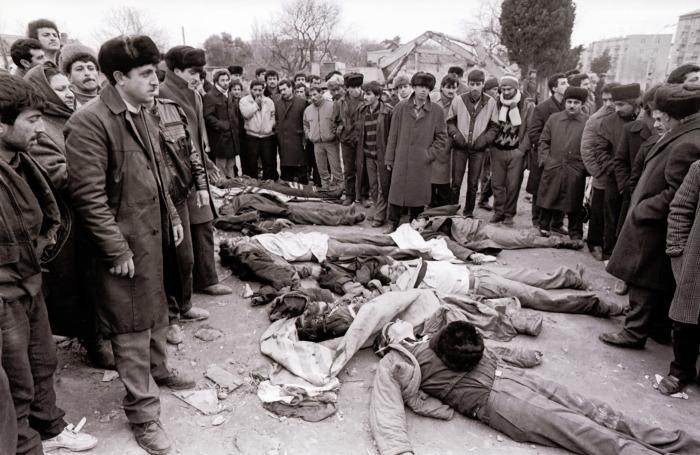 Погромы в Баку начались не внезапно, на протяжении 89 года на почве межэтнического противостояния в