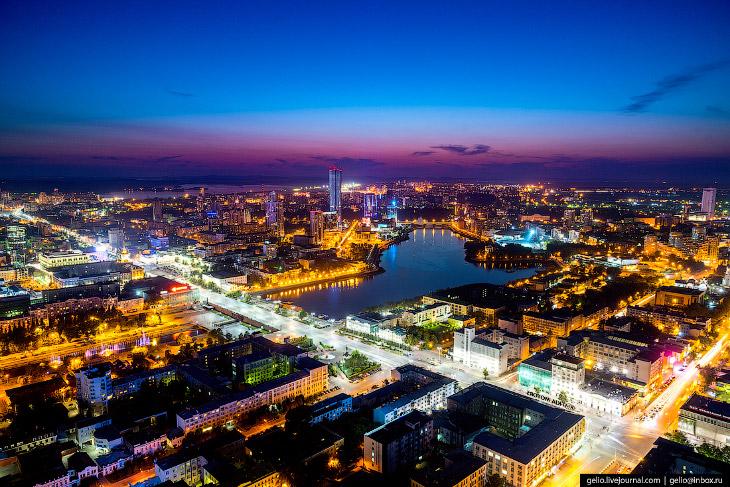 Екатеринбург с высоты: город, растущий вверх (86 фото)