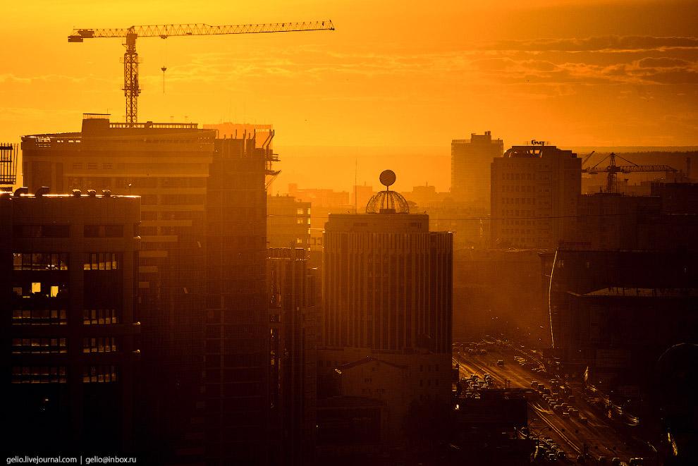 69. 3-этажный ЖК «Эльбрус» на улице Шевченко в Октябрьском районе.