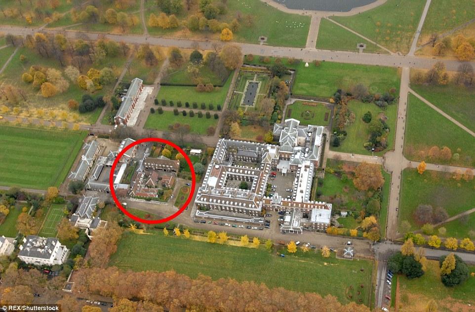 Молодожены будут жить в Ноттингемском коттедже на территории Кенсингтонского дворца.