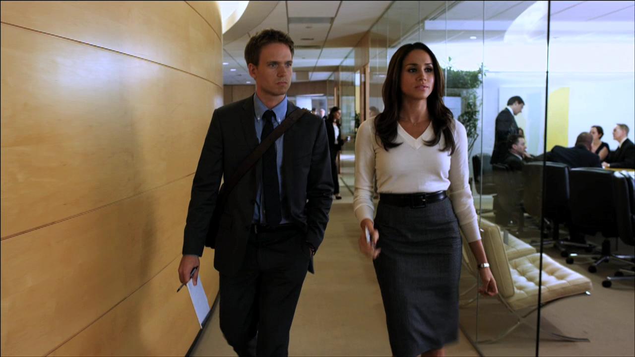 Маркл известна по роли Рейчел Зейн в сериале Suits («Форс-мажоры»). Также она снималась в эпизодах с