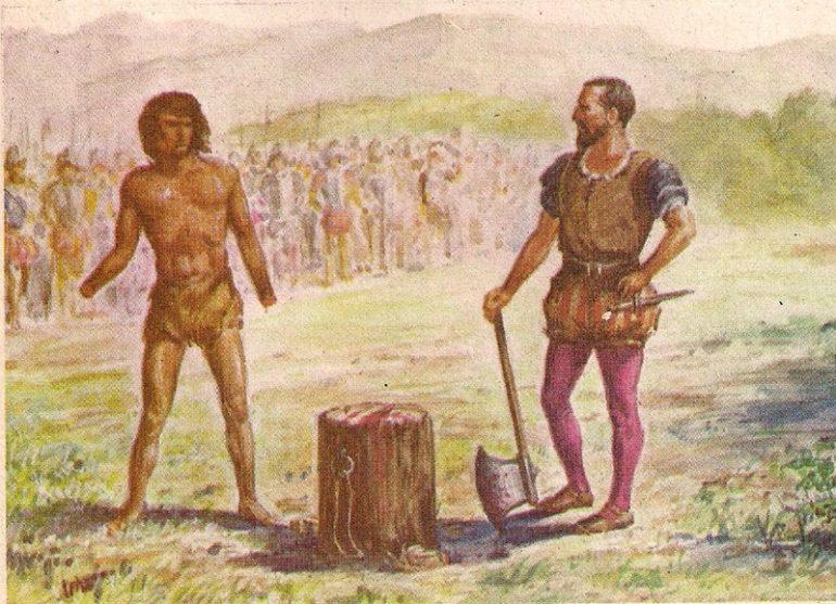 Бесконечные войны приносили арауканскому народумножество бед и страданий, но в пламени сражений рож