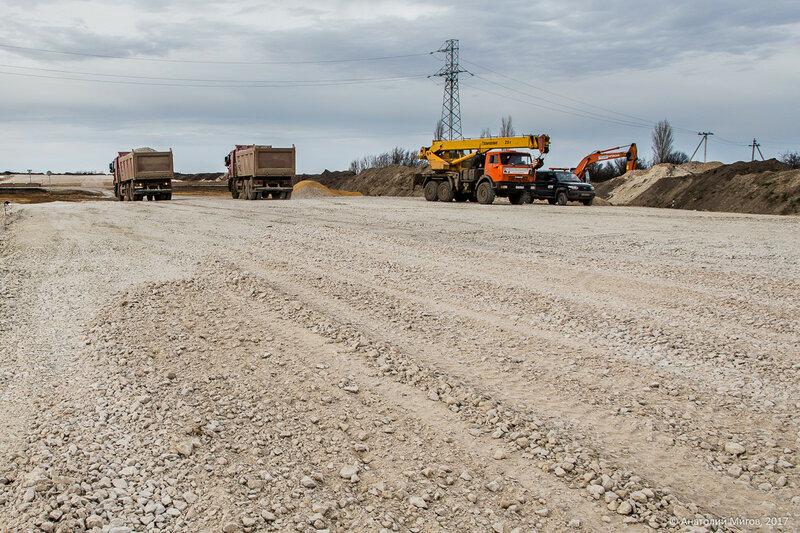 """Строительство трассы """"Таврида"""": на участке №2"""