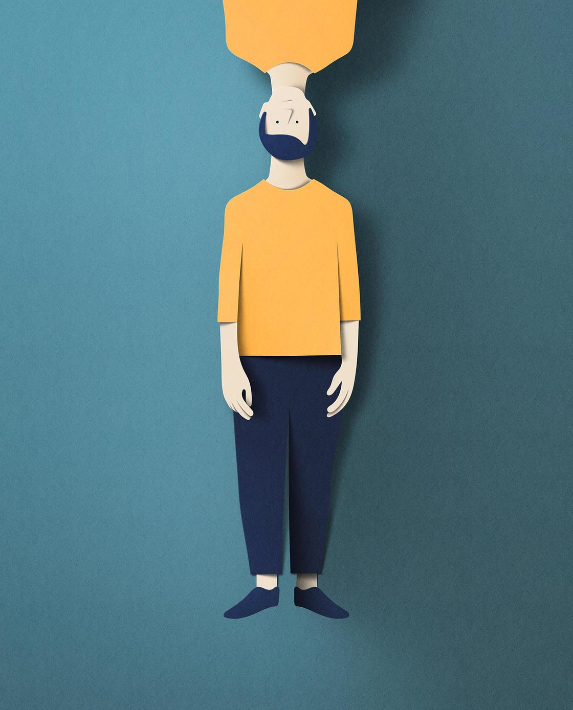 Paper Illustrations – Les creations percutantes et poetiques d'Eiko Ojala