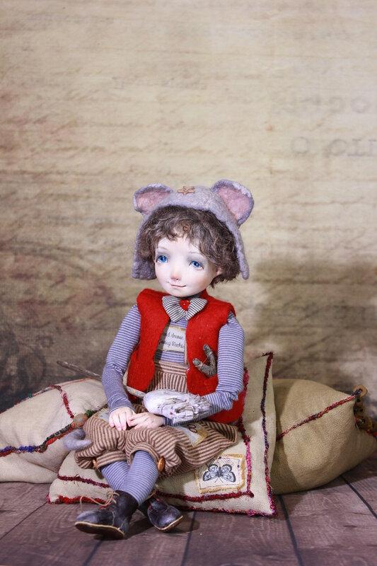 """""""Федя"""" авторская кукла"""
