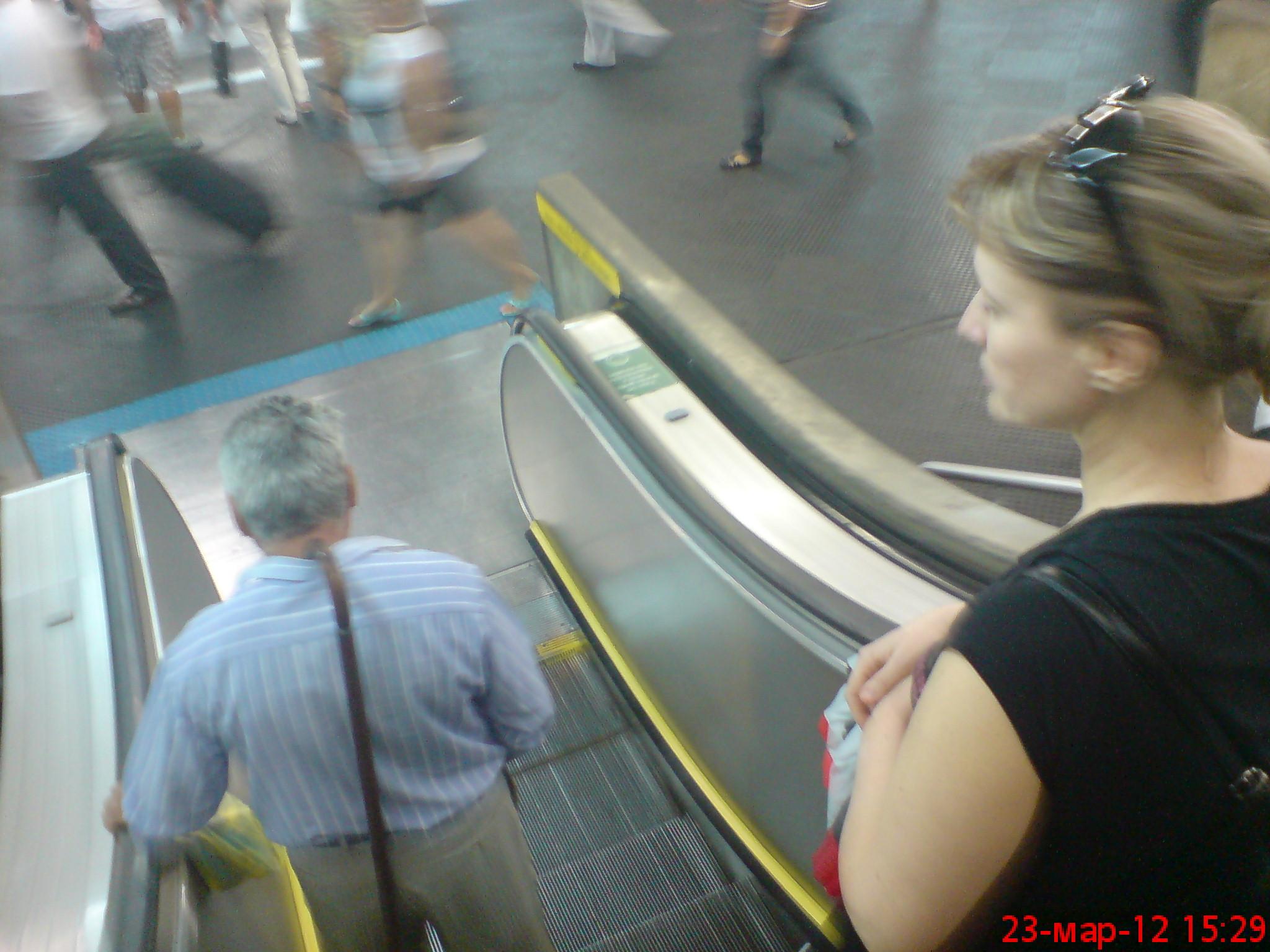 Вонючий секс на вокзале