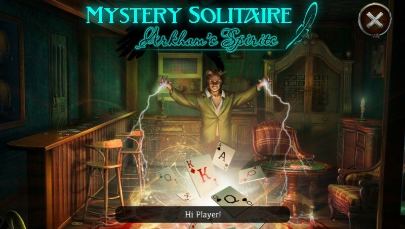 Mystery Solitaire: Arkhams Spirits