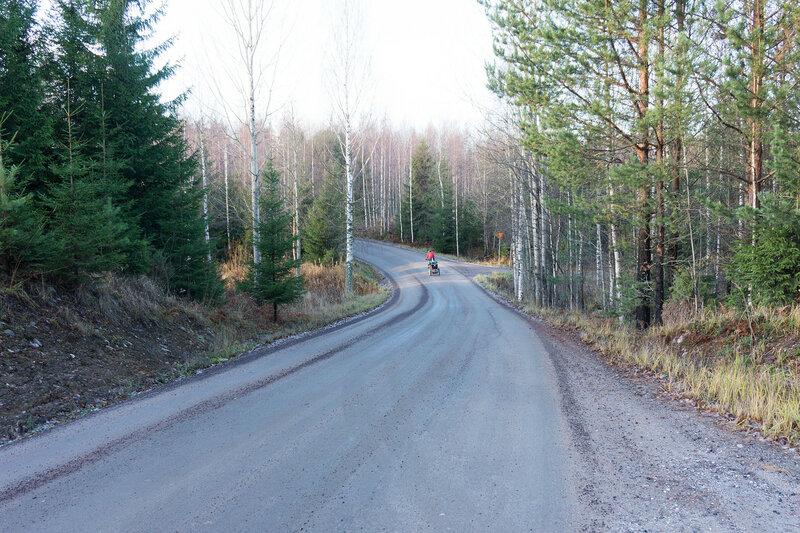велопоход по финляндии в ноябре