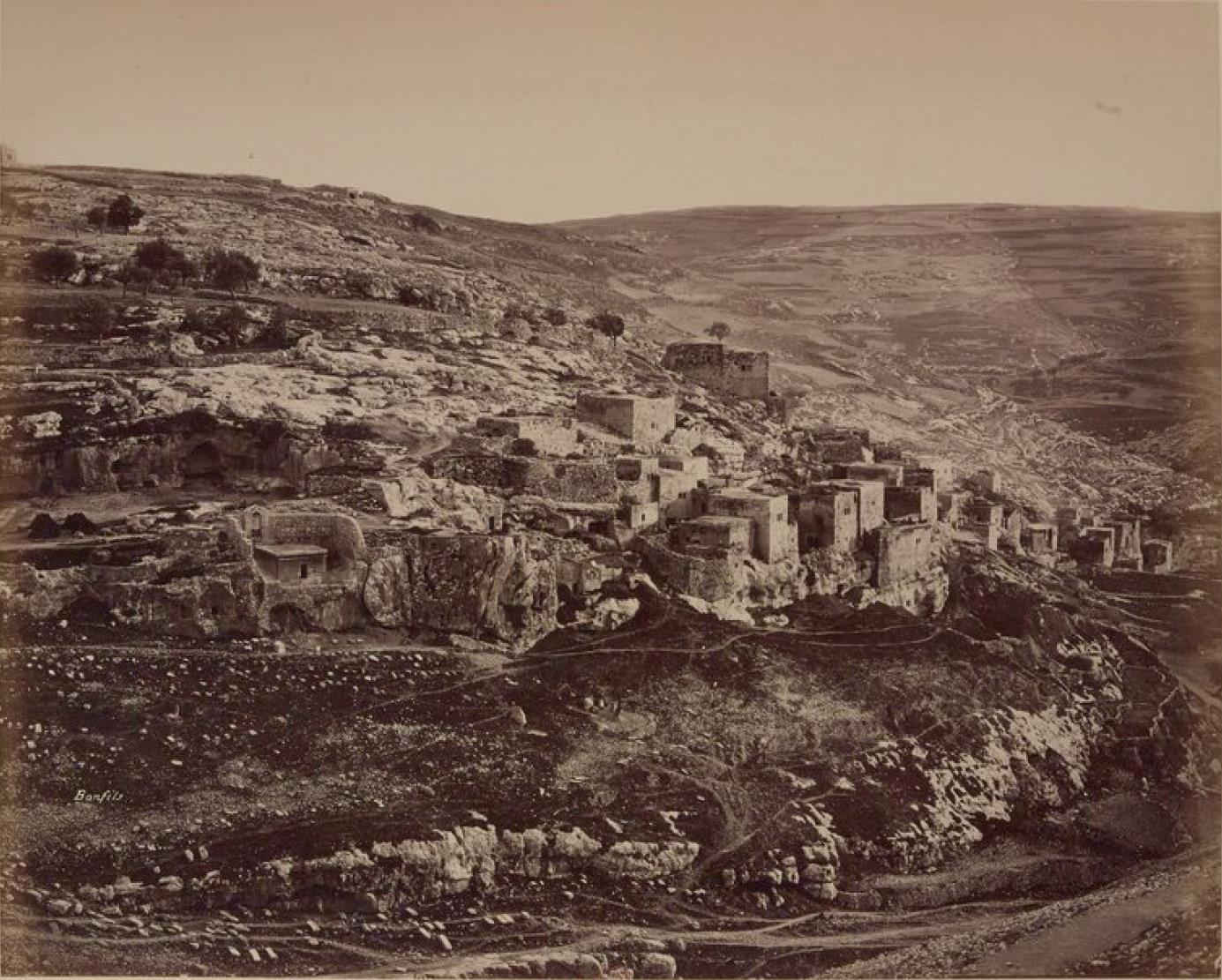 27. Окрестности Иерусалима. Деревня Силуан