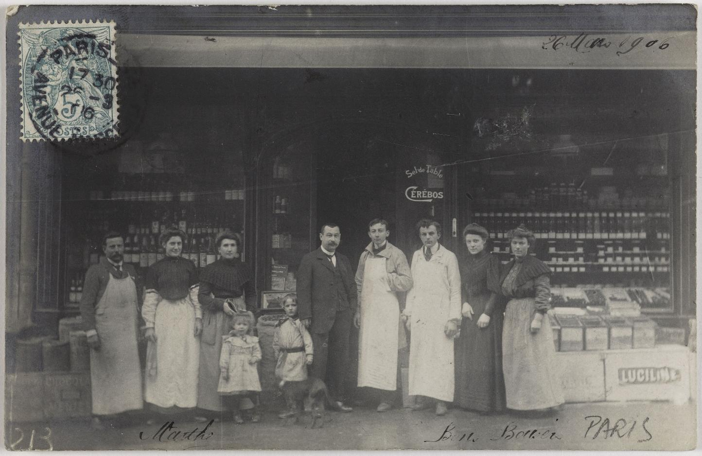 1906. Продукты и алкоголь. Овощи и фрукты (16 округ)