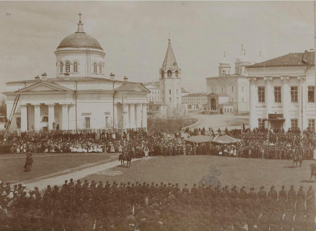 1910-е. Смотр войск местного гарнизона