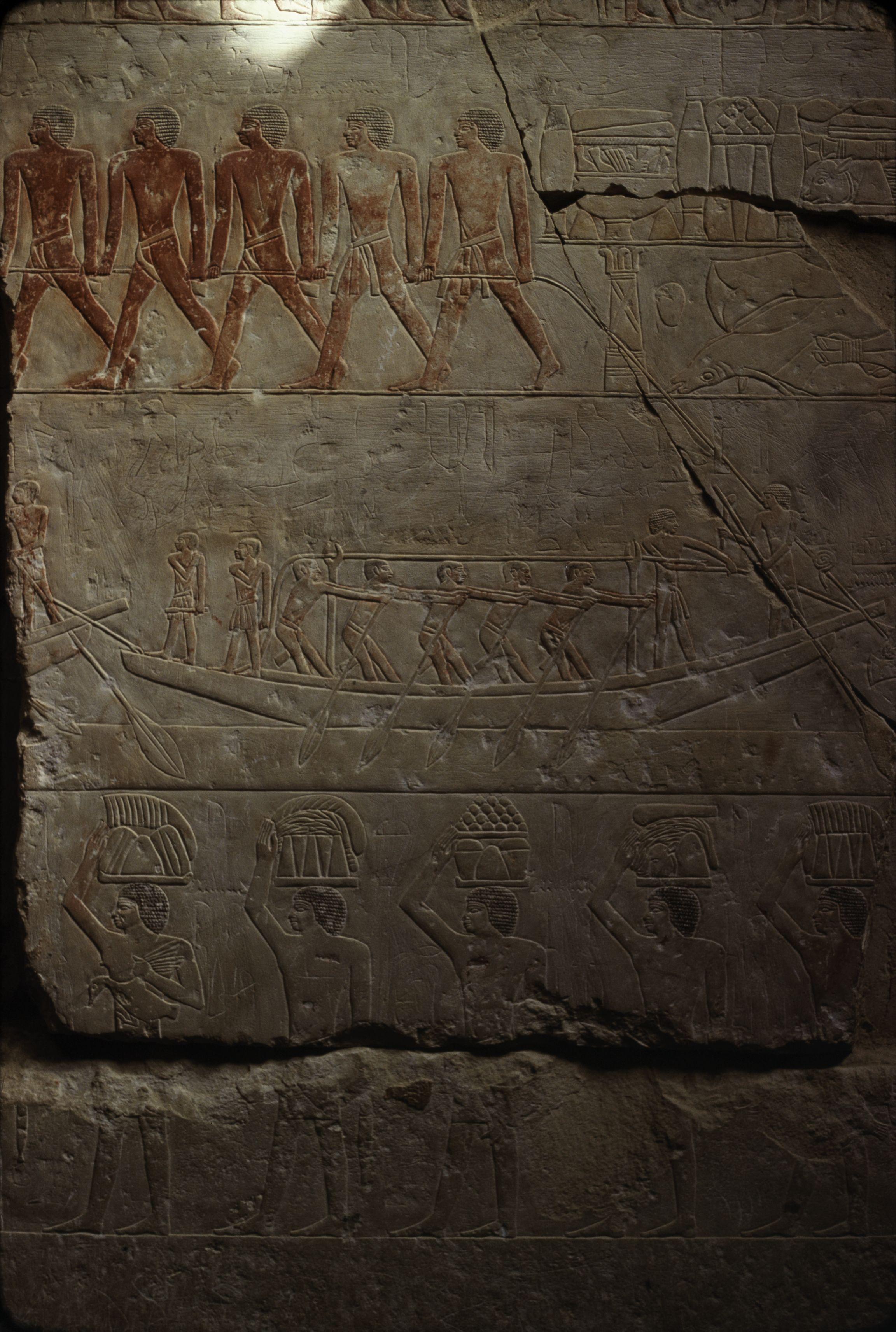 13. Саккара. Мастаба принцессы V династии Идоут