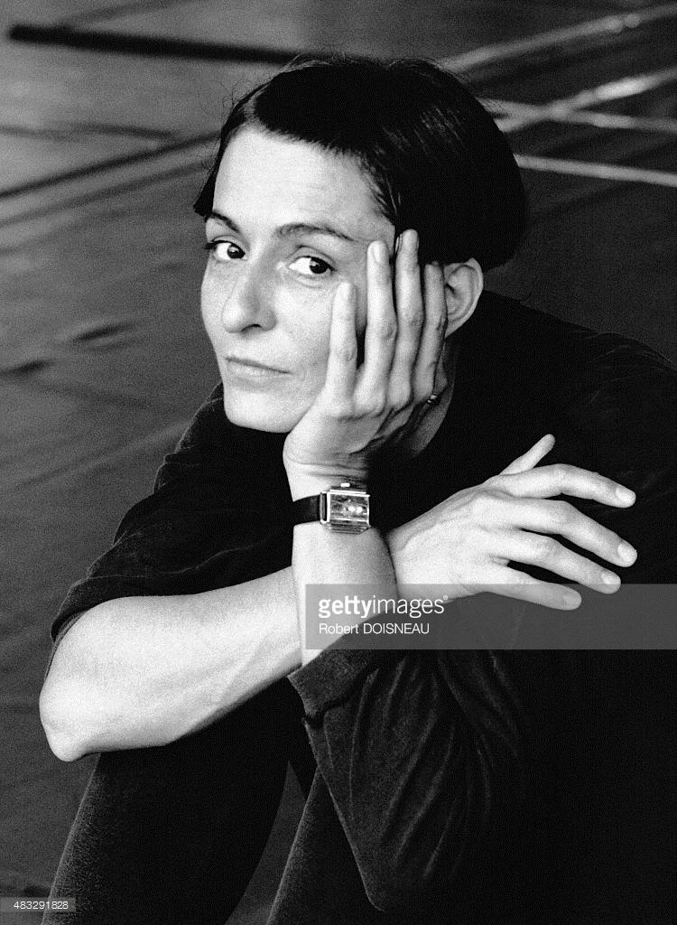 1990. Портрет французской танцовщицы и хореографа Режин Шопино