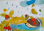 Зелёнкина Анастасия (рук. Самсонова Ирина Николаевна) - Осень в лесу