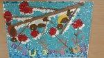 """Группа """"Грибочки"""" (рук. Иноземцева Светлана Геннадьевна) - Плакат """"Покормите птиц!"""""""