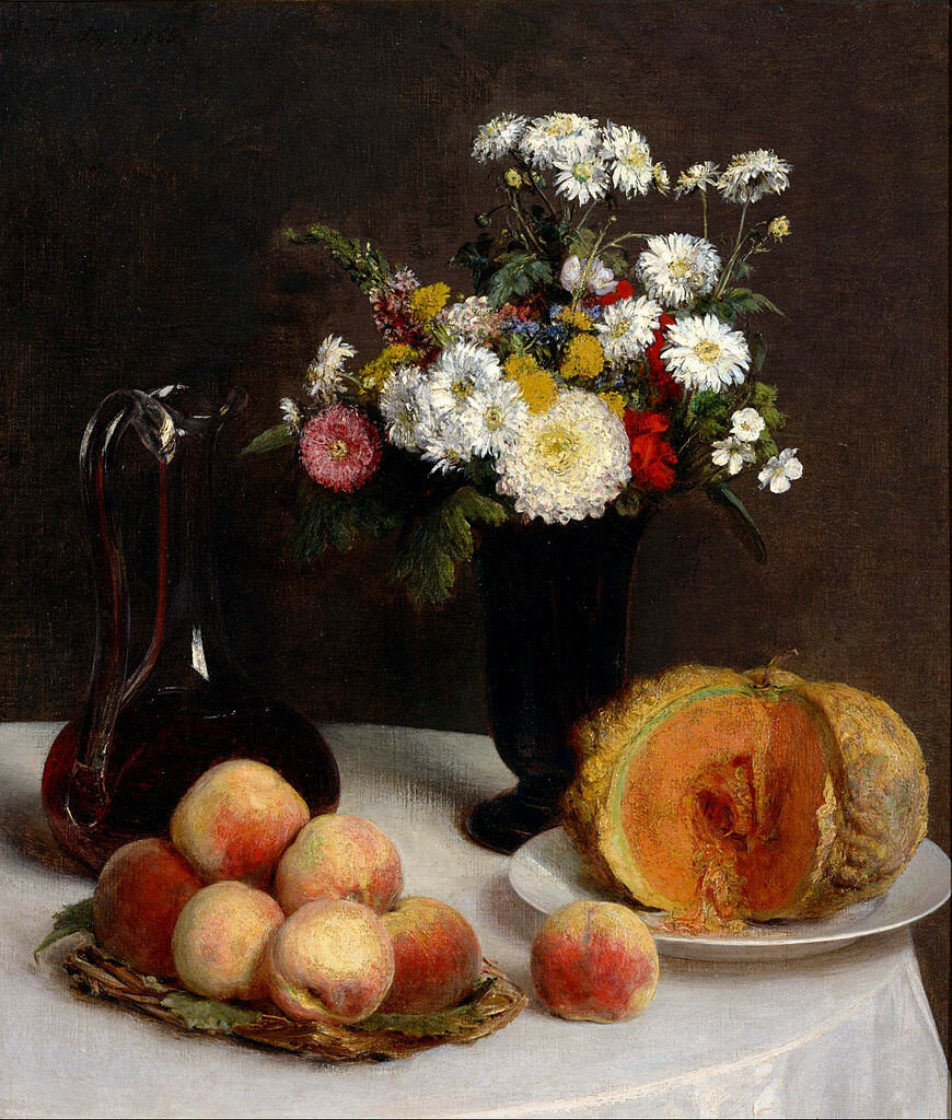 870px-Henri_Fantin-Latour_-_Still_Life_with_a_Carafe,_Flowers_and_Fruit_-_Google_Art_Project.jpg