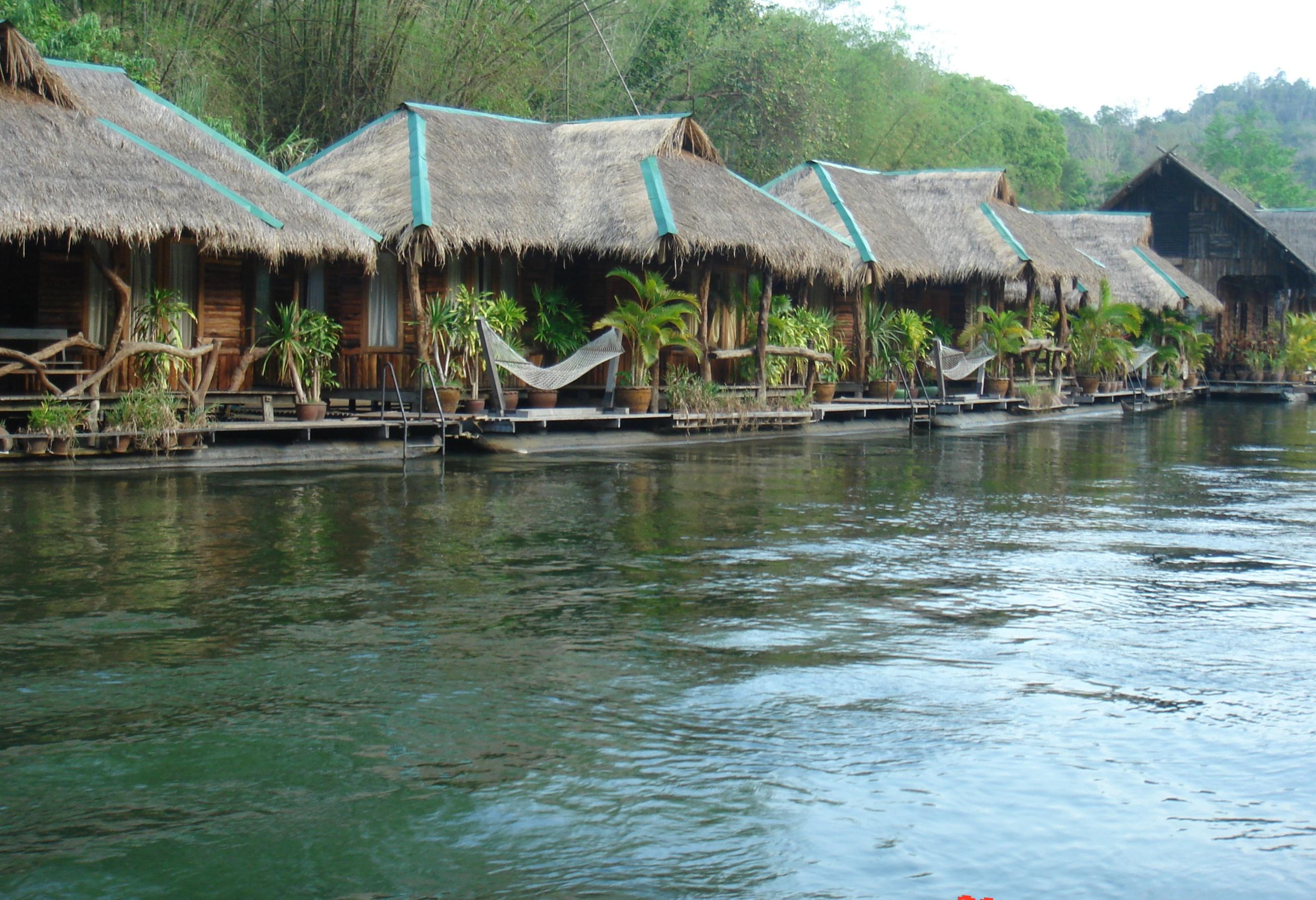 Тайская деревня.