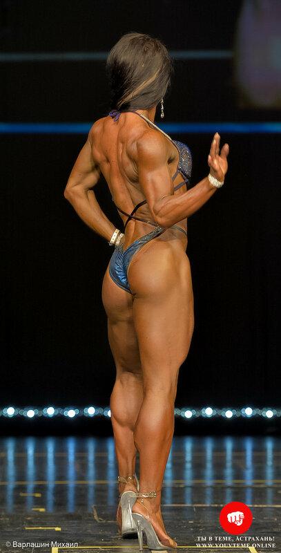 Категория: Бодифитнес-женщины абсолютная. Чемпионат России по бодибилдингу 2017