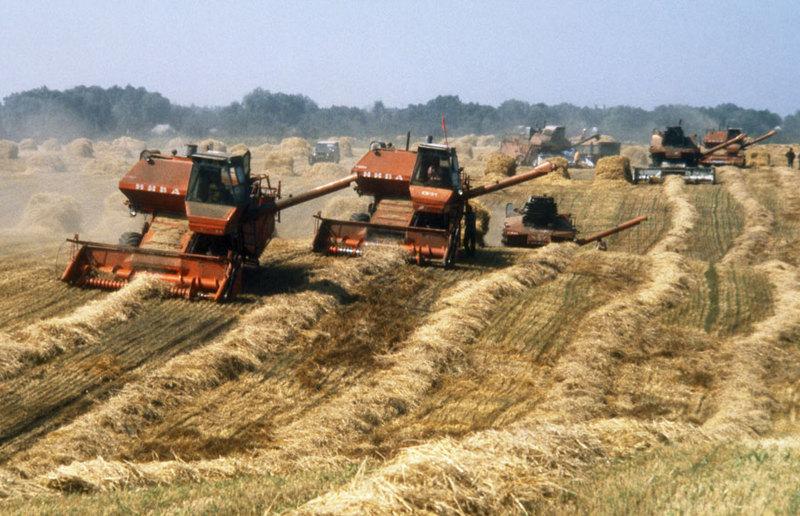 Советские зерноуборочные комбайны, которые кормили всю страну