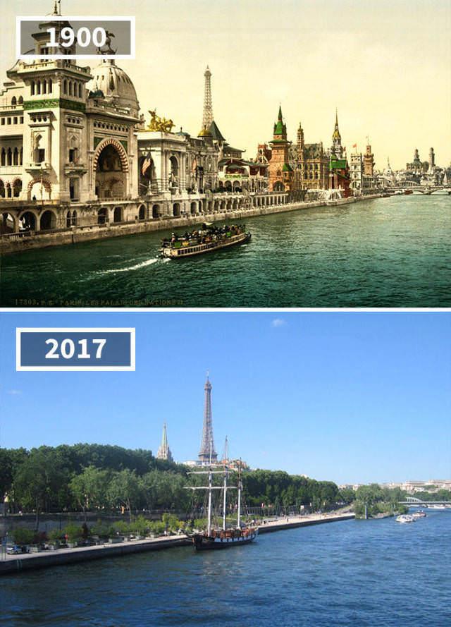 Что разрушили в Париже