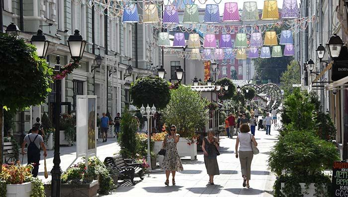 дорогая улица в России