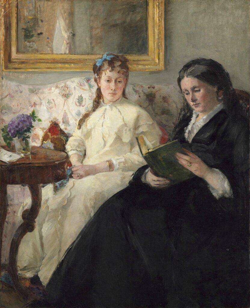 Моризо, Берта - Мать и сестра художницы
