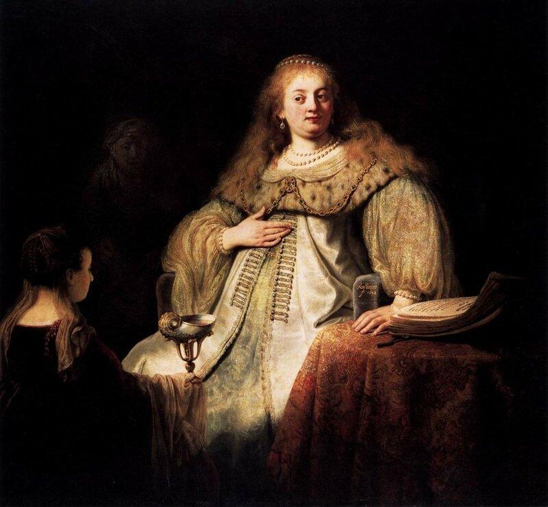 Софониба принимает чашу с ядом, 1634.