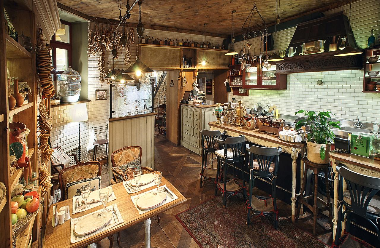 ресторан в Москве. фотографии