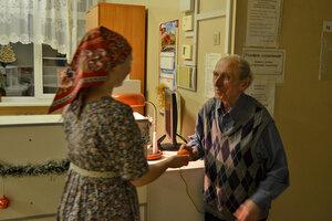 Христославыы в больнице