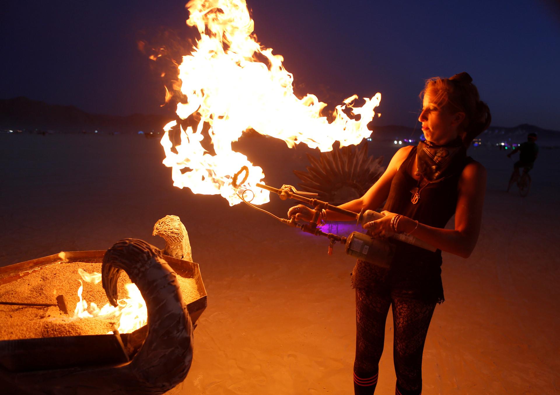 27 августа в Неваде начался 32-й фестиваль самовыражения Burning Man