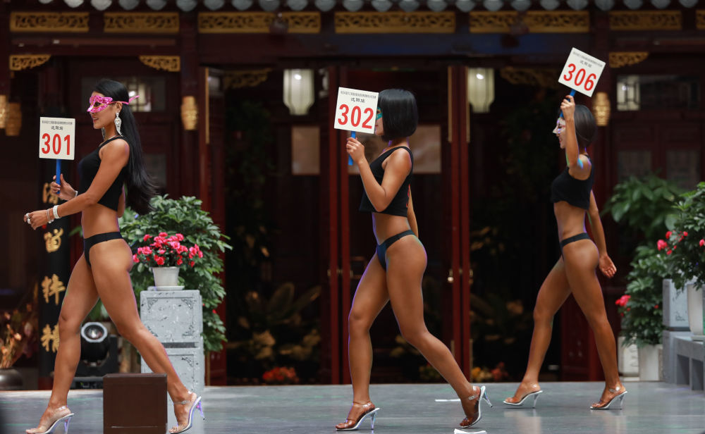 Красивые ягодицы: у Китая есть собственная версия конкурса Miss BumBum
