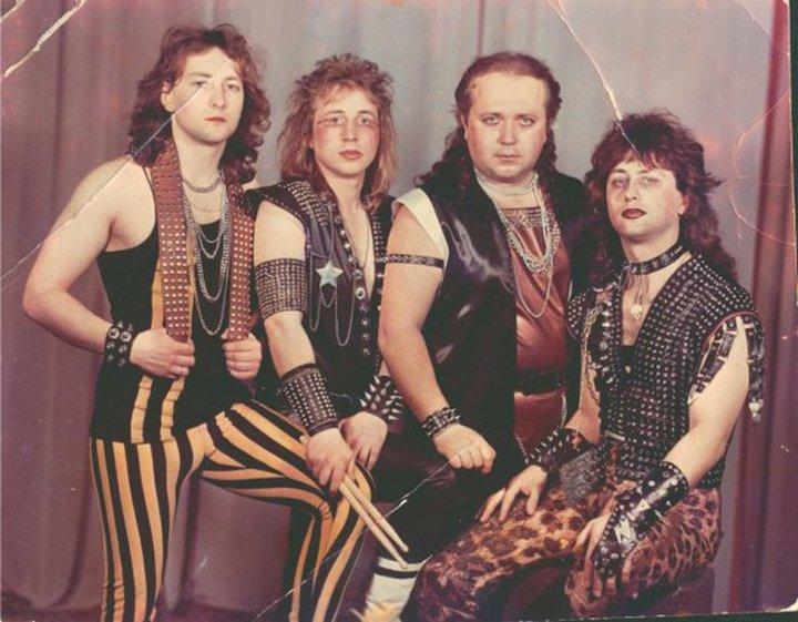 20. Белорусский метал-бэнд «Вепри суицида», 1980-е